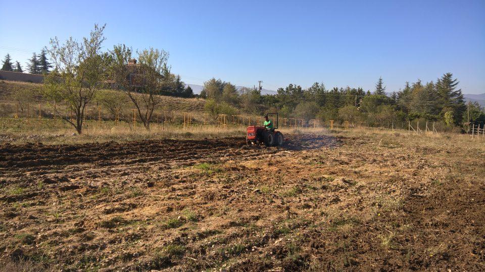 Preparazione terreni agricoli